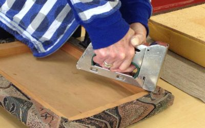 Upholstery Basics: – Term 4.     Course Full; Taking a waiting List for 2021