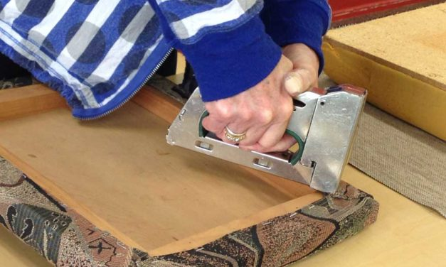 Upholstery Basics: – Term 4.      Starts October 21