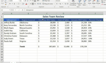 Excel Spreadsheeting – Basics #07180