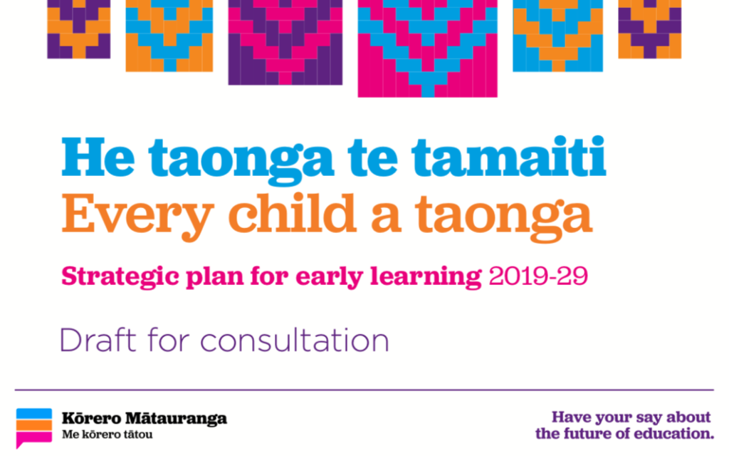 Have your say on the future of early learning…www.conversation.education.govt.nz…