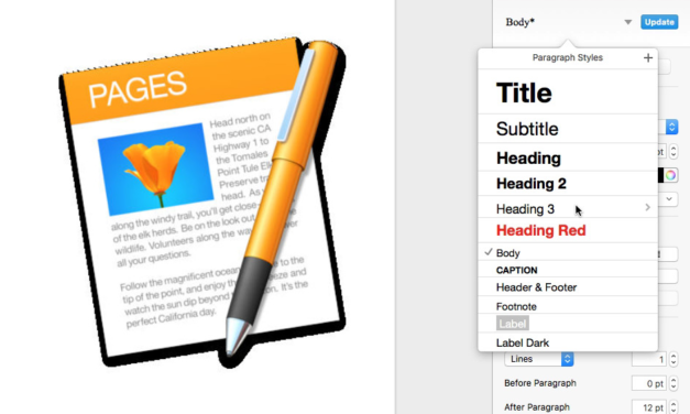 Publishing on a Mac with Pages –  Starting 13 Aug