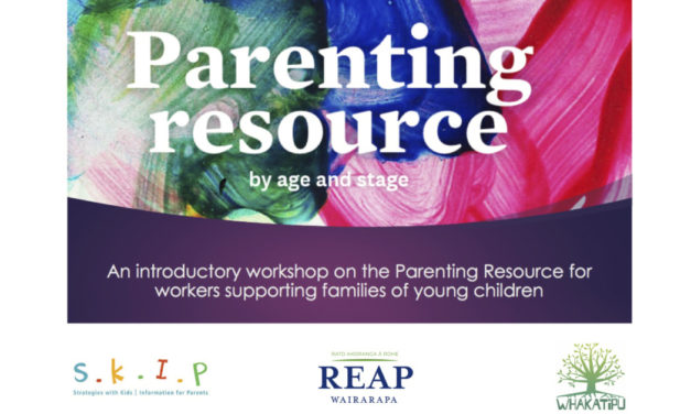 SKIP Parenting Resource workshop – Carterton – Tuesday 22nd October